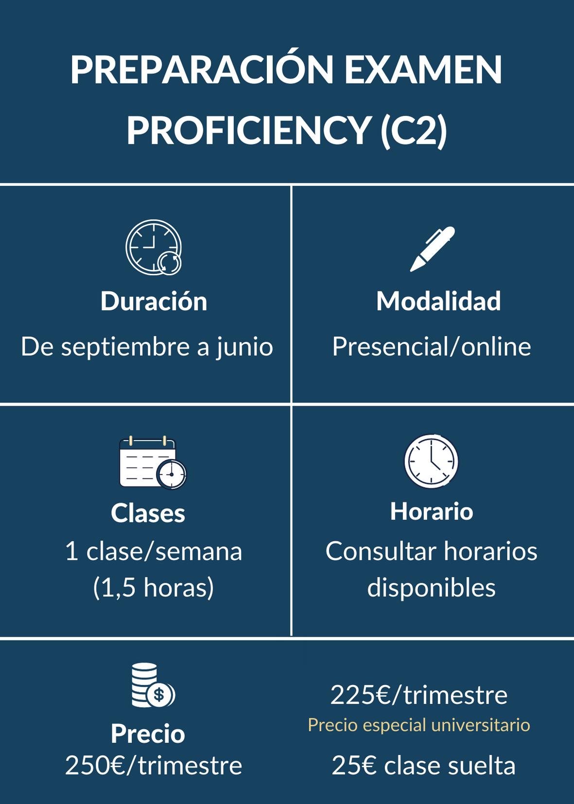 Preparación Proficiency