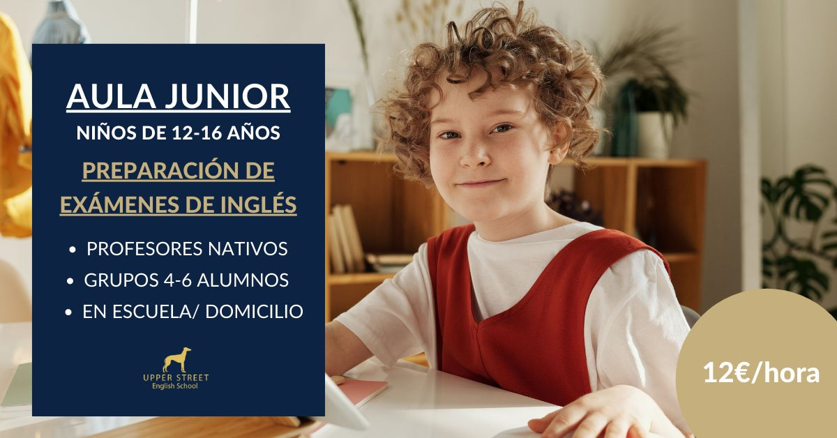 clases inglés niños upper street
